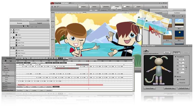 http://www.reallusion.com/crazytalk/animator/default.aspx