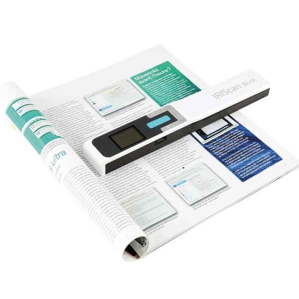 IRIS IRIScan Book 5 Wifi Cordless Document Scanner NEW