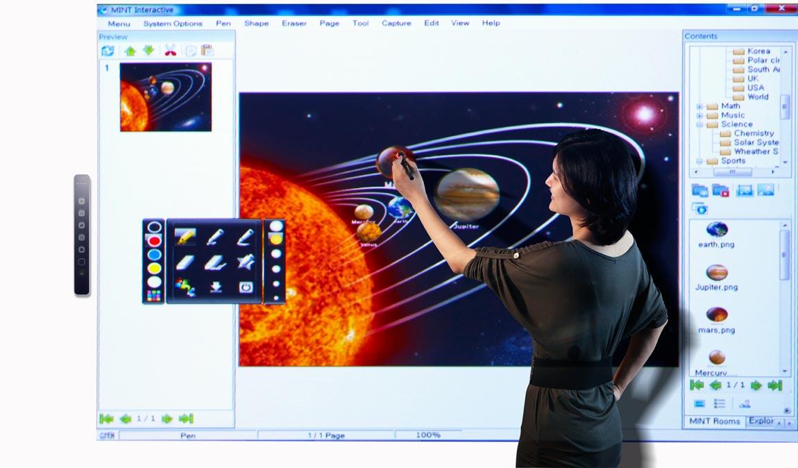uBoard Interactive Whiteboard Device