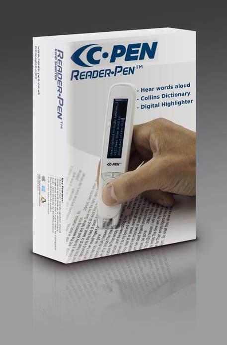Reader pen box