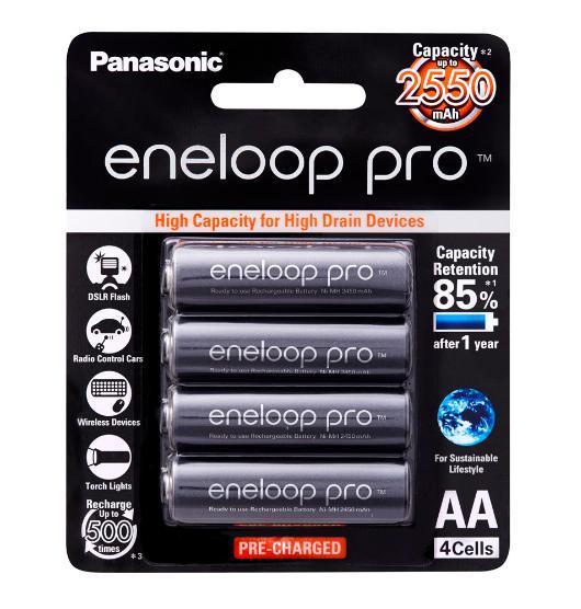 Eneloop Pro 4AA