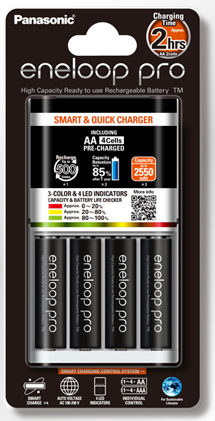 Eneloop Quick Charger Pro 4AA