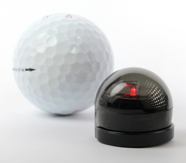 ozobot with golf ball