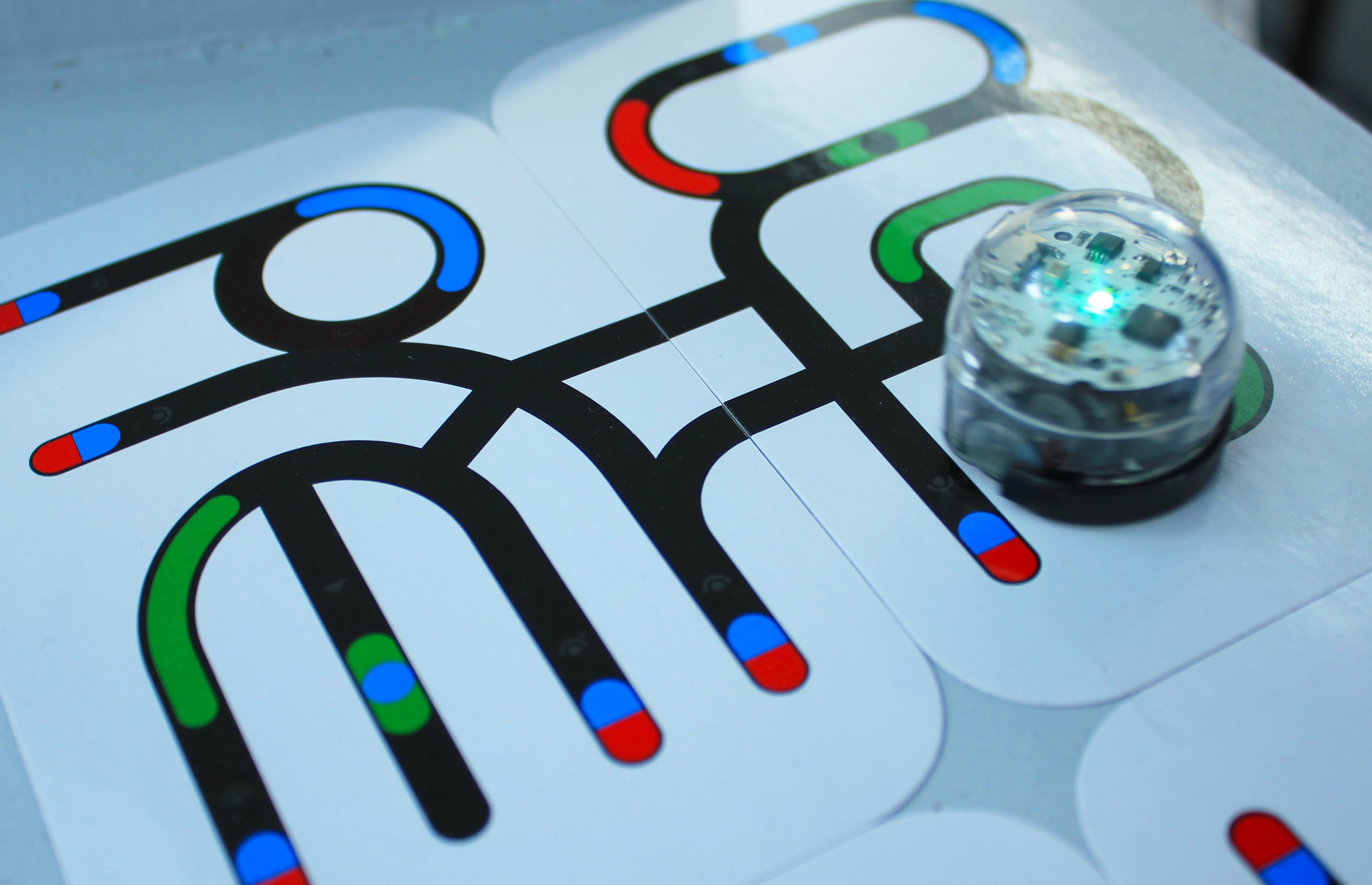 ozobot on card
