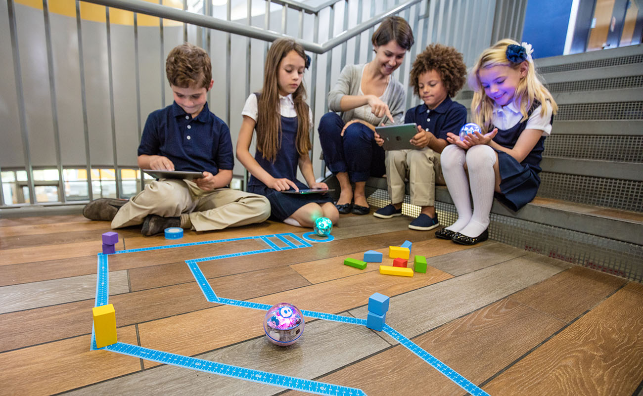 sphero on floor