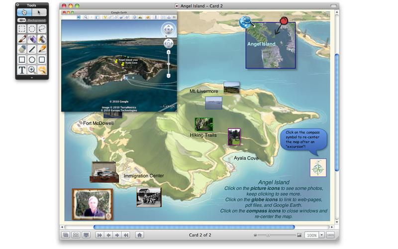 HyperStudio Map