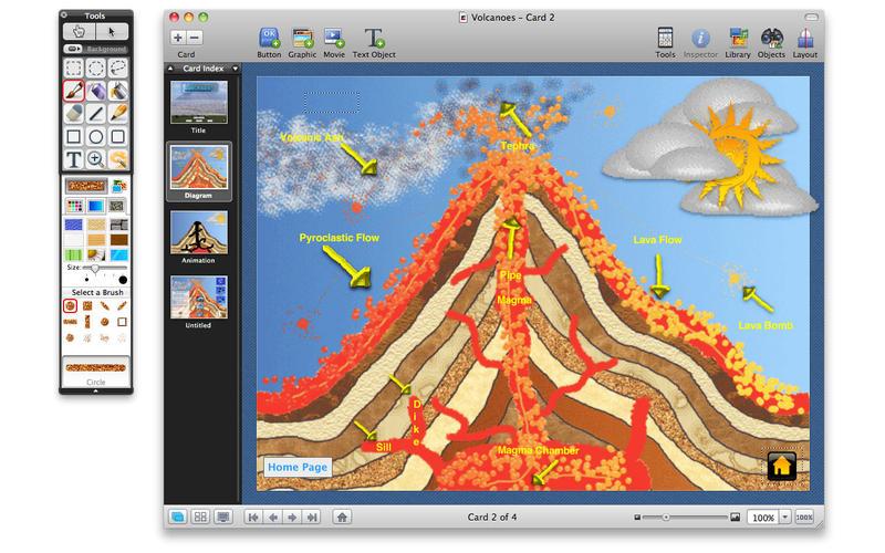 HyperStudio Volcano
